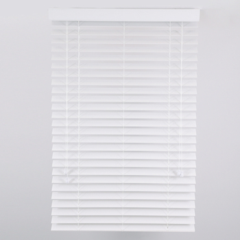 Modern window blind white color 2 inch pvc faux wood venetian blinds