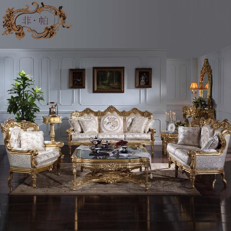 Italian furniture reproduction living room set made in - Classic italian living room furniture sets ...