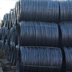 Top quality HPB195 hot rolled steel wire rod in coils
