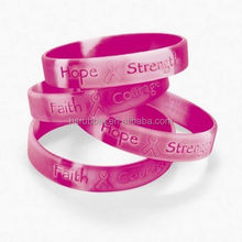 Promotion Fashion cool Pink Ribbon Camouflage Camo Breast Cancer AWARENESS Bracelets