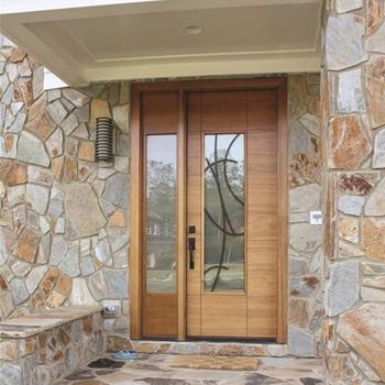 Entry Door Best Glass Panel Main Door Design Luxury Interior Wood