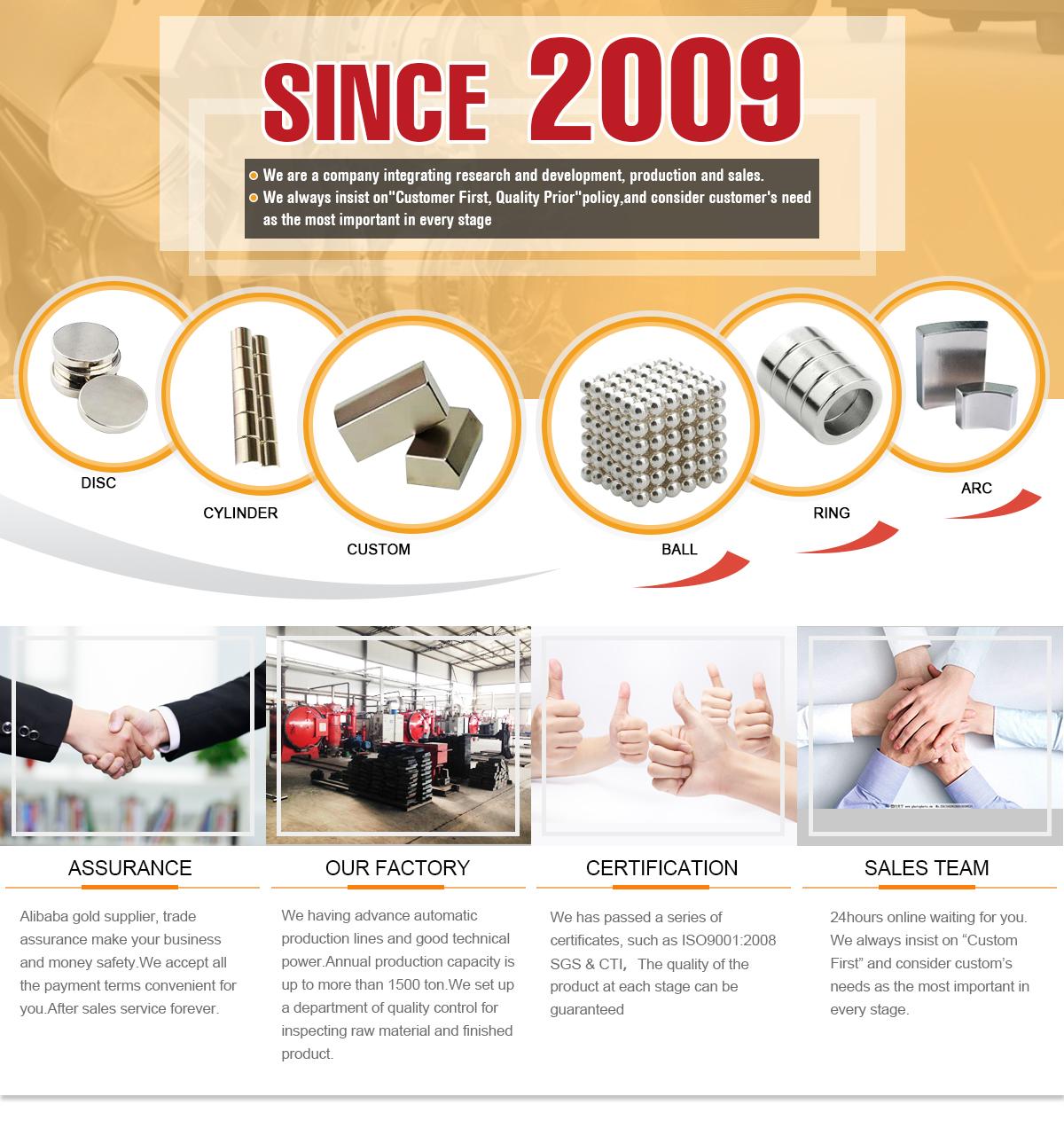 מדהים Shanxi Kingsun International Trading Co., Ltd. - Neodymium Magnets BX-65