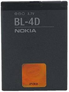 Nokia BL-4D BL4D Battery for Nokia Device - Original OEM - Non-Retail Packaging - Black