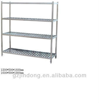 online retailer d6915 d3cf9 4 Tier Stainless Steel Storage Rack - Buy Storage Rack,Stainless Steel  Shelf,Kitchen Storage Rack Product on Alibaba.com