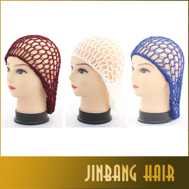 Crochet Hair On Net Cap : Hat Hair Net Crochet Hairnet Sleep Cap - Buy Crochet Hairnet Sleep Cap ...