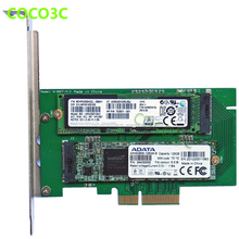 PCI-e x4 to M Key NGFF SSD Card for SAMSUNG 950 PRO M.2 SSD Desktop SATA III 3.0 to B Key M.2 SATA interface SSD adapter