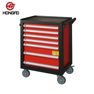 Low price tool box with wheels for workshop worker stations