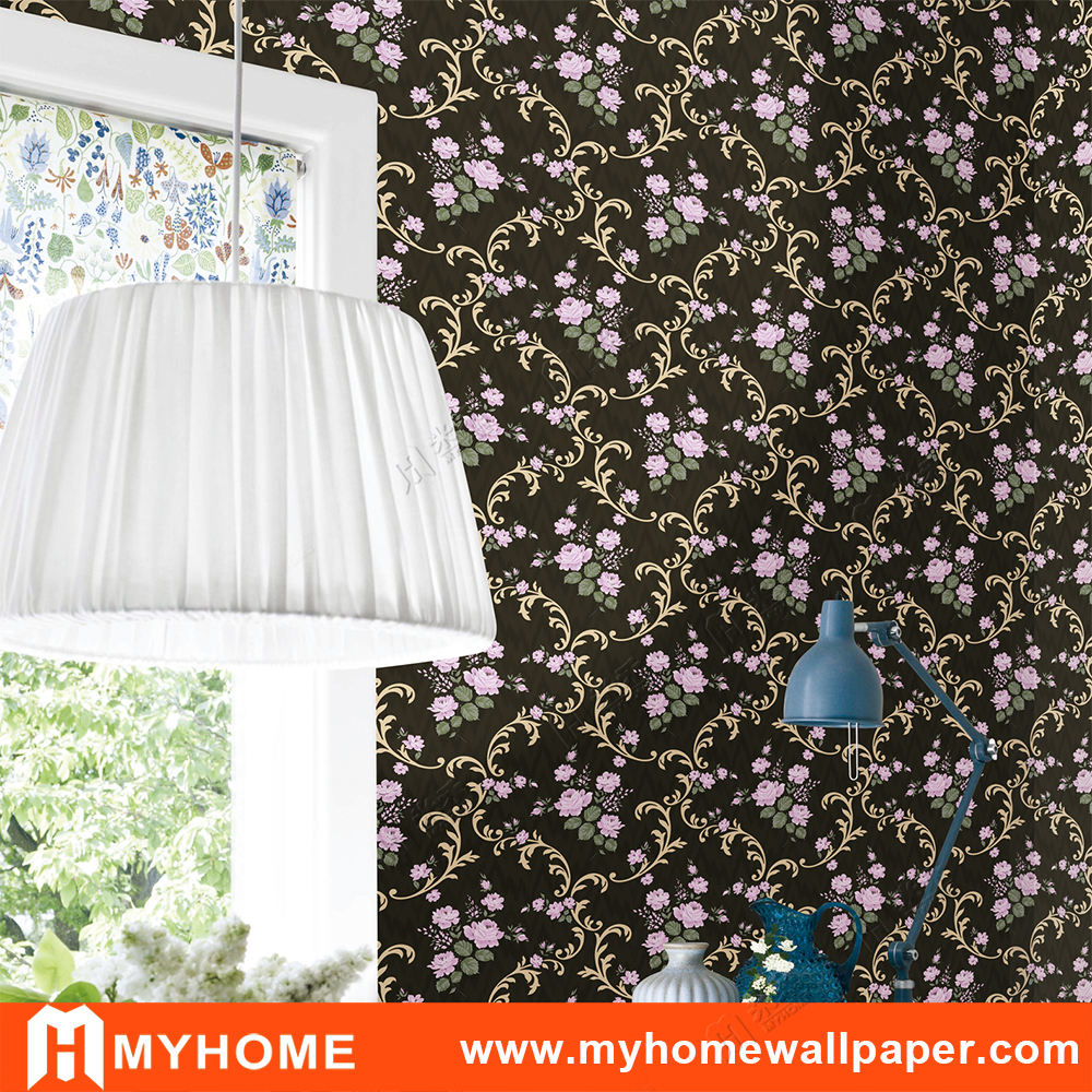 Wholesale European Country Style Floral Wallpaper Buy Floral