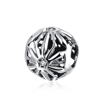 Hoge Kwaliteit Sieraden 925 Sterling Zilver <span class=keywords><strong>Poot</strong></span> DIY Charm Bead Verzilverd