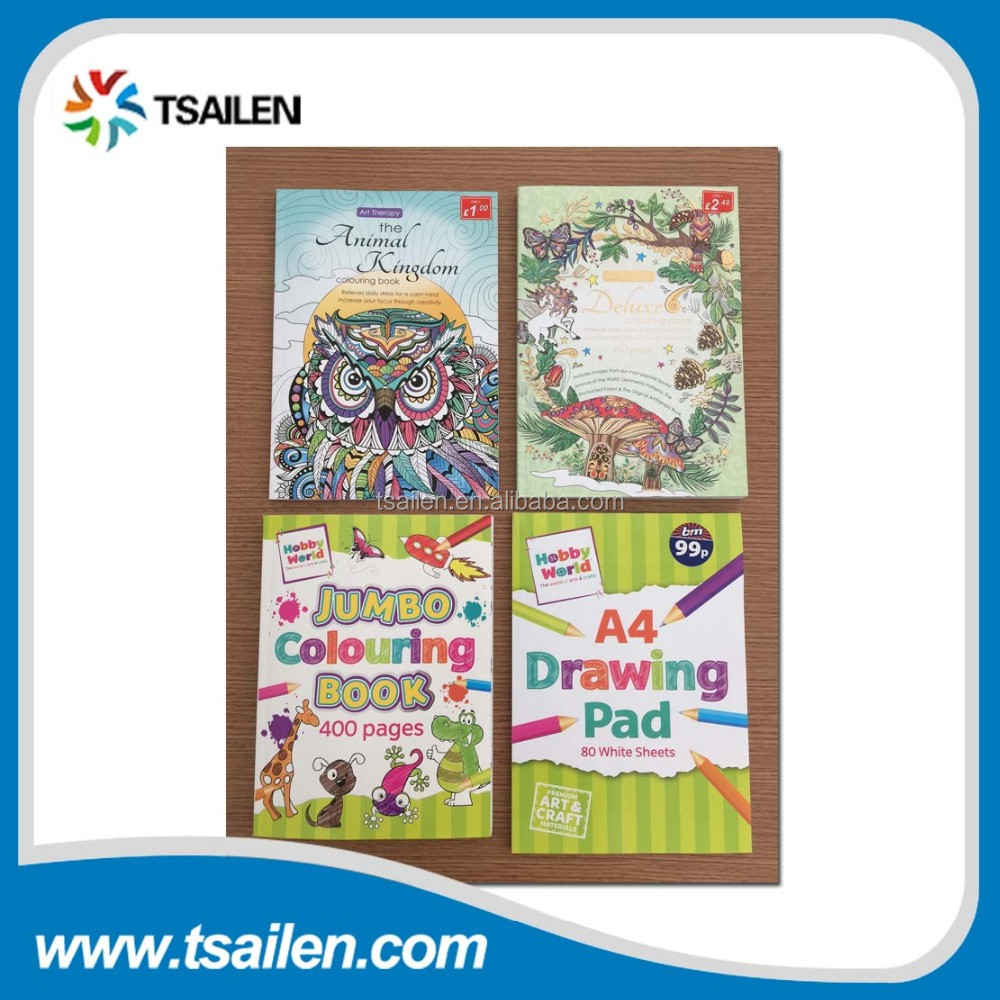 Exporting Custom Child Coloring Book Printing