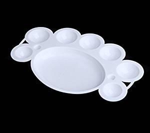 edealing(TM) 5PCS Manicure Dappen Dish for Paint Mixing Color Nail Art Palette Nail Art Care