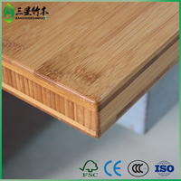 cheap prefab laminate shiny bamboo countertop for furniture