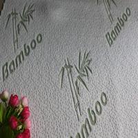 bamboo antique polpular white green silk knitted air mattress ticking fabric pillow case fabric Hangzhou