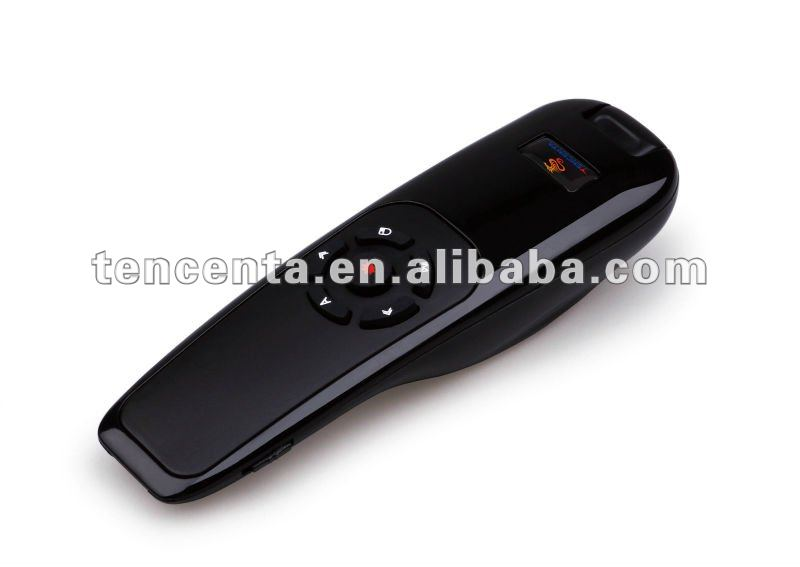 2012, Top quality 2.4G wireless presenter with AIR mouseTB068