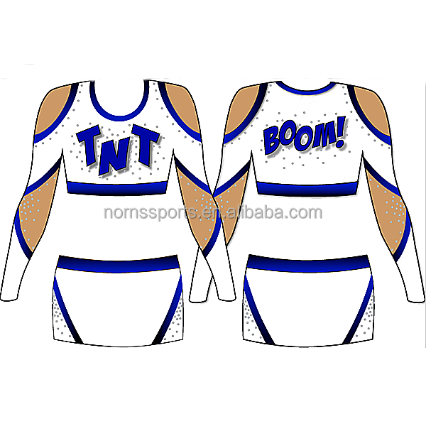 2017 Factory Pirce Cheap Cheerleader Uniforms Costume