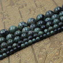 4mm 6mm 8mm 10mm 12mm round natural new kambaba jasper beads dark green gemstones