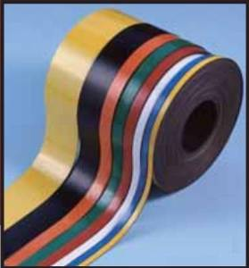 Magna Visual MR-3 .38in. H x 30in. Strips Colored Magnetic Strips Magna Ribbon