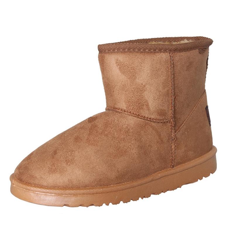 8112799dce Get Quotations · 2015 Women's Snow Boots Fashion Female Sneakers Winter  Warm Flat Heels Classic Short mini Australia Classic