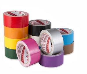Colorful Rubber adhesive duct Tape, Gaffer Tape & Cloth Tapes for Wide Application