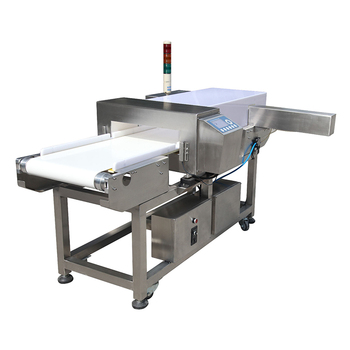 HACCP FDA approved food grade metal detectors for bakery industry