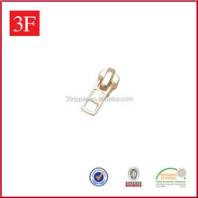 Custom Shape Metal Gold Zipper Sliders