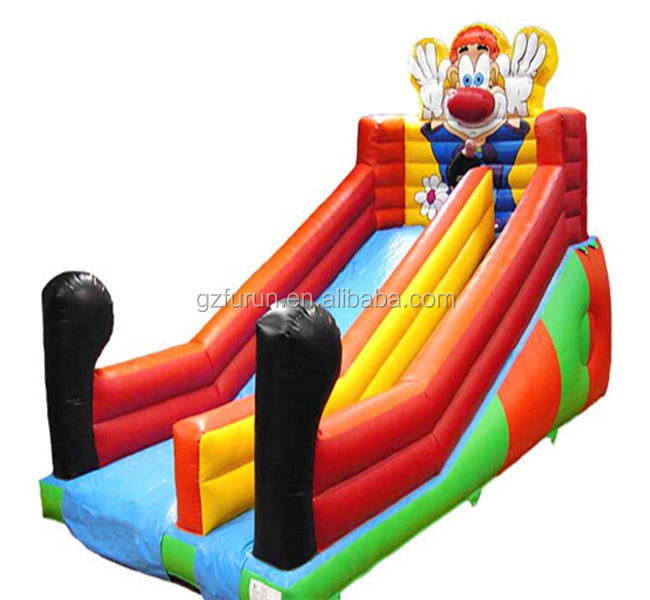 Cheer Amusement children indoor Clown inflatable super slide