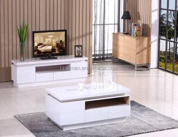 Living Room Furniture design tea acrylic modern led glass coffee table