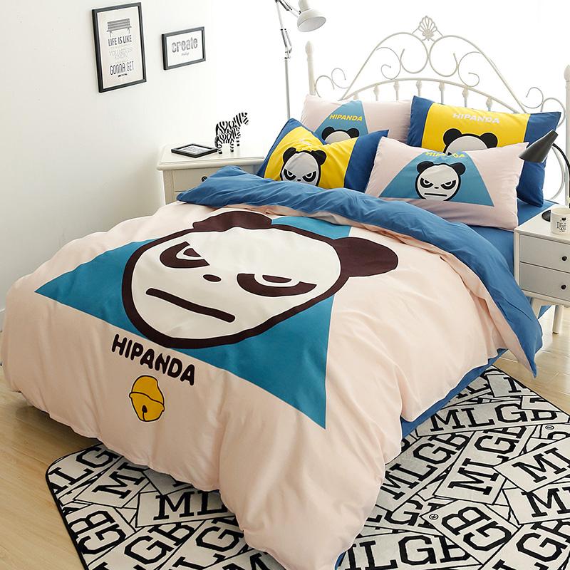 achetez en gros panda lit ensemble en ligne des grossistes panda lit ensemble chinois. Black Bedroom Furniture Sets. Home Design Ideas