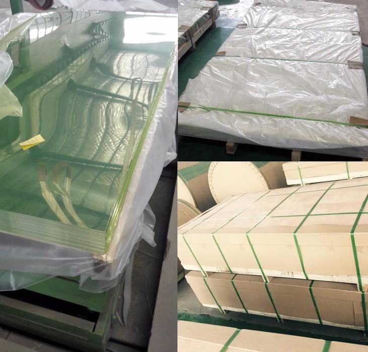 Packing of aluminum mirror sheet