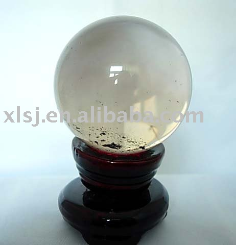 Natural Rock Smoky Crystal Quartz Ball/Sphere