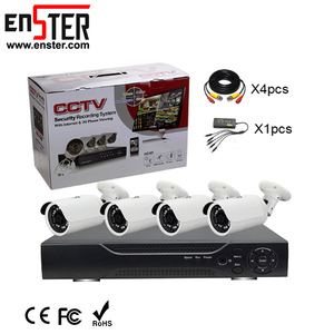 Shenzhen Low Price OEM CCTV Bullet Small Night Vision Cam Security Prices Cameras Kit