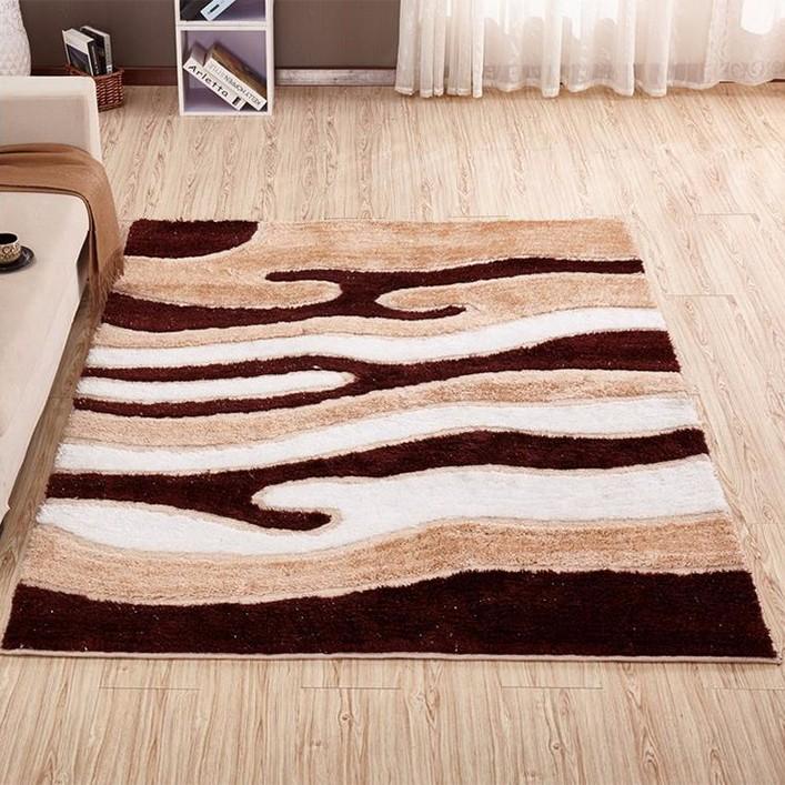 Polyester Sculptured Carpets Spaghetti