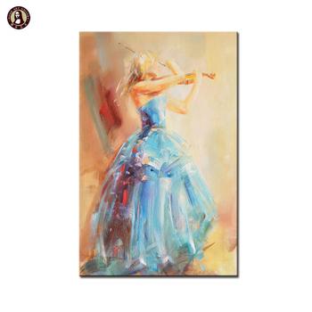 Vente Chaude Moderne Danseuse Espagnole Peintures à L Huile Pour La Décoration Murale De Salon Buy Décoration Murale Peintures Pour Mur De