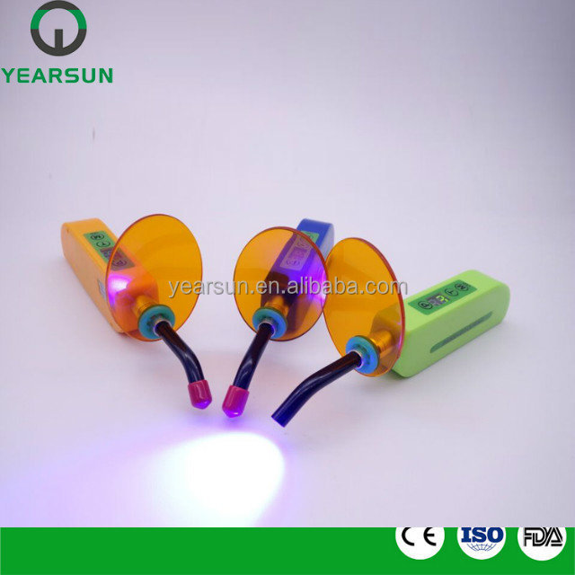 Dental colorful LED curing light membrane keypad feel better