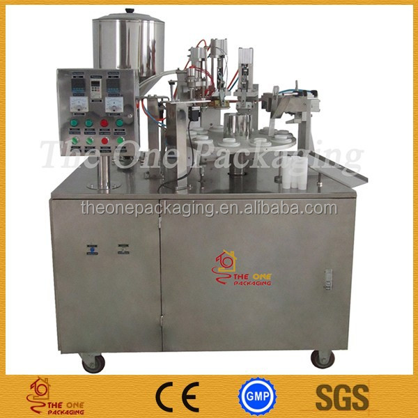 Semi-Automatic Plastic Tube tube filling & sealing machine for shampoo,ointment,glue,paint,lotion,handwash