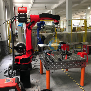 DC1006A-200 6 axis industrial welding machine robotic arm made in china