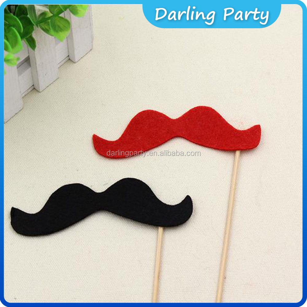 A Stick Funny Party Mask Fake Paper Mustache