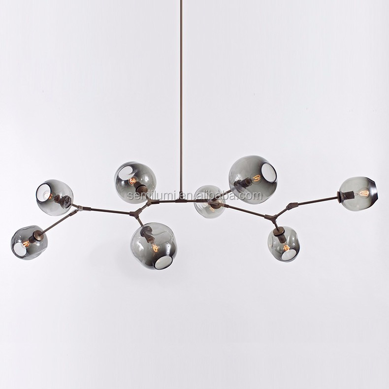 Lindsey Adelman chandelier Bolle suspension lamp Branching bubble chandelier