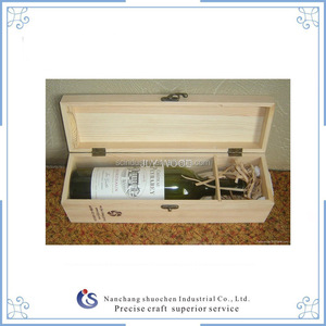 Handmade Solid Wood Gift Box Wine Packing Box Wooden Box