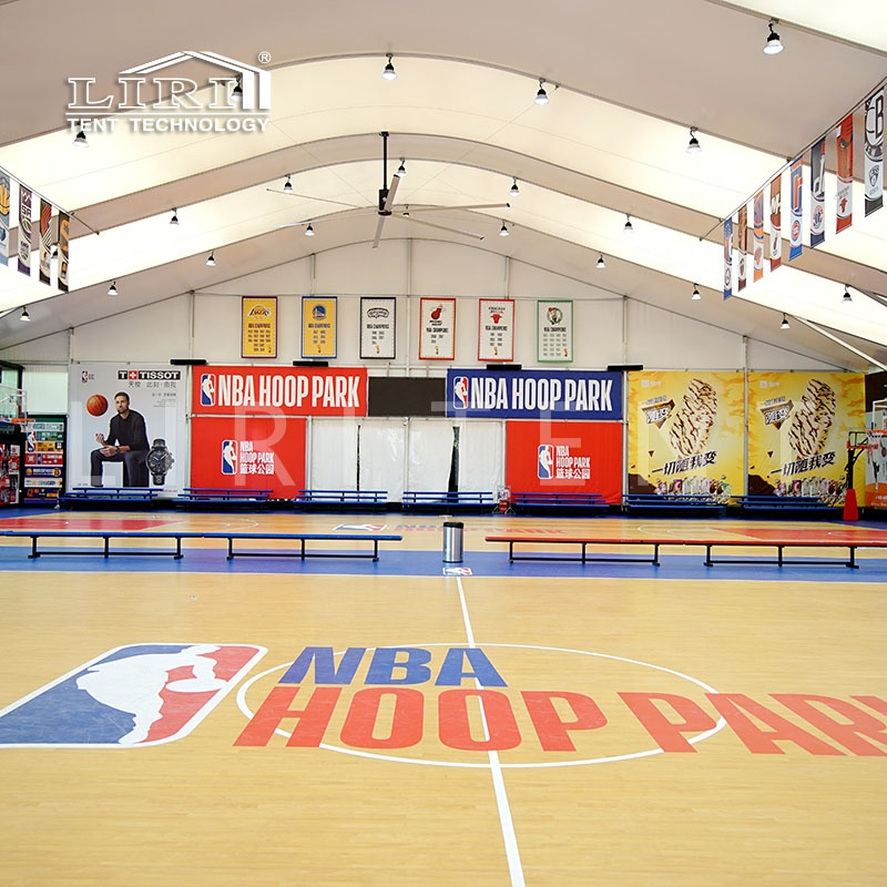 Waterproof Aluminum Frame High Ceiling Arch Dome Basketball Court Sports Tent