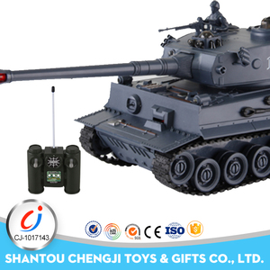 Shantou Factory plastic model toys parts electric hobby rc tank car