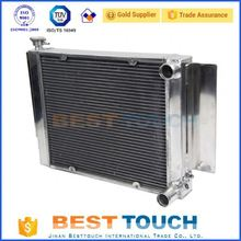 Good price racing all aluminum radiator for saab