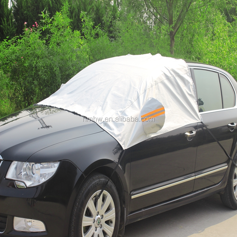 Car Front Windscreen Cover Heat Sun Shade Snow Frost Ice Shield Dust Protector