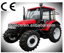 riding-type garden tractor, agrimotor, 100hp wheel tractor yto-x1004
