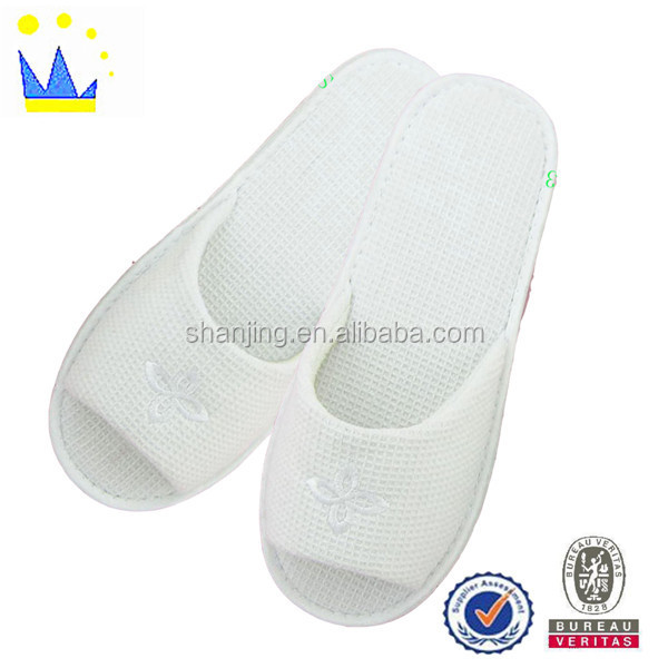 tpr or eva sole different material/ colorful custom hotel slipper