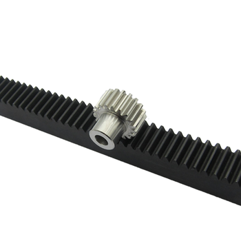 Straight teeth gear rack m1 in stock