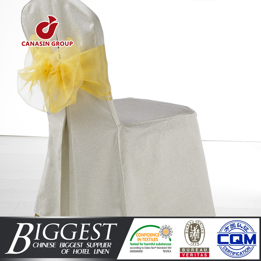 luxury spandex folding chair cover with bands