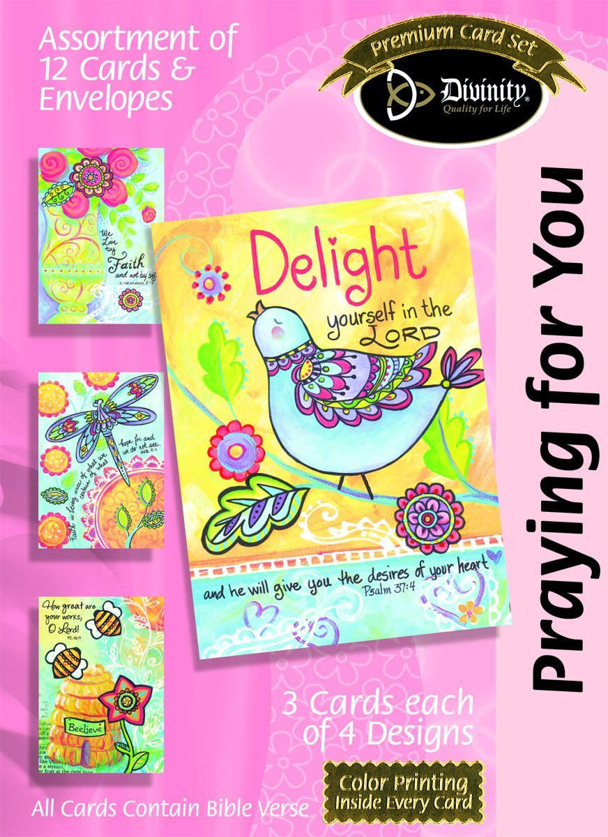 Buy Divinity Boutique Greeting Card Assortment Thank You Flowers