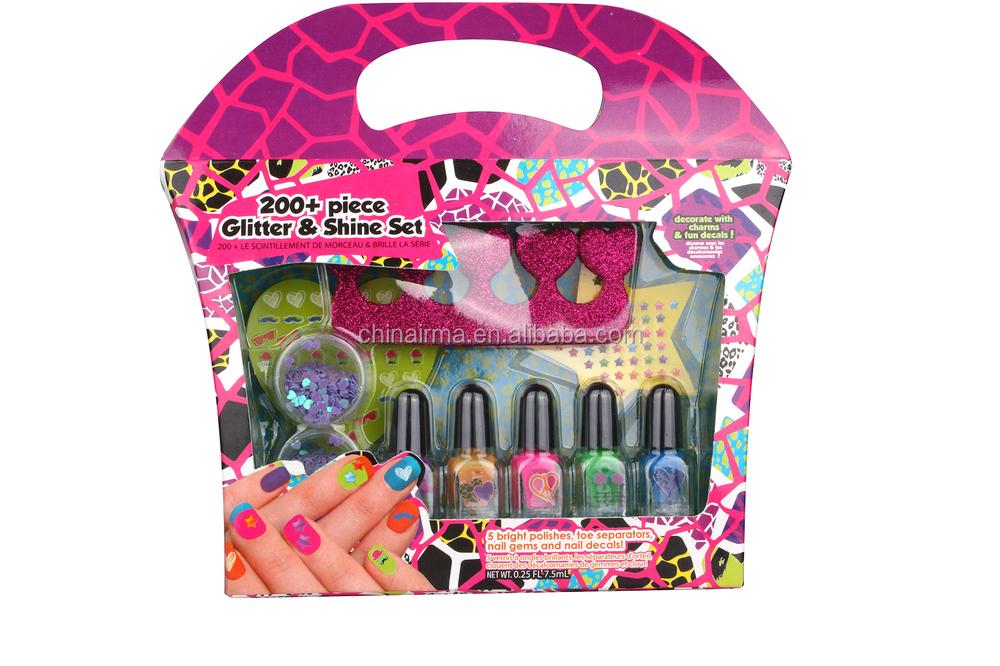 Colorful Kids Nail Art Set Gift - Nail Art Design Ideas ...