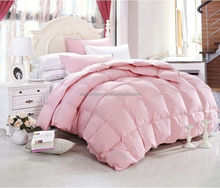 China supplier soft warm plain down quilt for home hotel